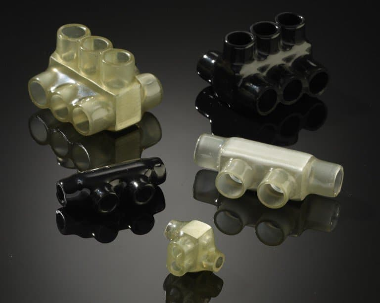 Plastisol Coated Multi-Tap Insulated Electrical Connectors